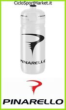 "Borraccia / Water Bottle "" PINARELLO "" 74mm - Bianco/Nero"