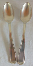 2 cuillères art déco métal argenté SFAM spoons