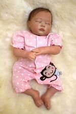 Reborn Doll with Magnetic Mouth,Cute Girl Baby with Rooting Hair#YDK-15