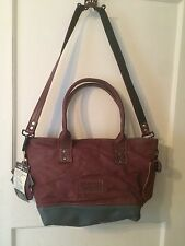Peace4You  Upcycled Shoulder Bag recycled leather Made in Germany