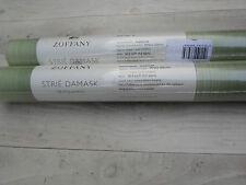 Zoffany Wallpaper - Opaline Stripe - 2+Rolls - New/Unopened - Sage ZSDA06001