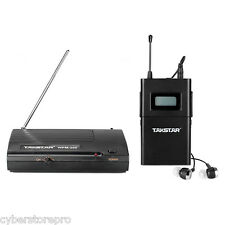 TAKSTAR Wireless Stereo In-ear Stage Monitor System Receiver Transmitter