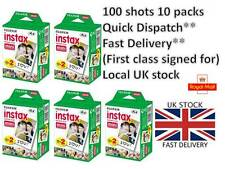 Fuji Fujifilm Instax Mini Film 100 White Films for Fujifilm Mini 7s/8/25/50/90