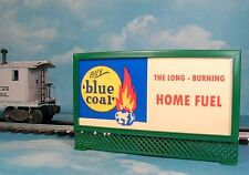 DL&W ANTHRACITE BLUE COAL MODEL RAILROAD LIGHTED BILLBOARD AD for LIONEL TRAINS