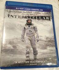 INTERSTELLAR Blu-ray. No DVD or Digital Copy.