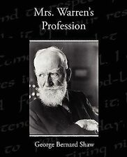 Mrs Warren's Profession by George Bernard Shaw (2009, Paperback)