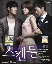 THE SCANDAL KOREAN TV DRAMA (8 DVD) NTSC 0 REGION EXCELLENT ENG SUB BOX SET
