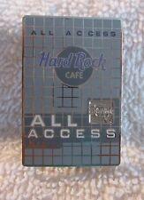 Hard Rock Cafe Pin HRCPCC - 2002 - All Access - Membership Card (#13128)
