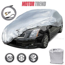 """Motor Trend All Season Complete Waterproof Car Cover Fits up to 157"""" W/ Lock"""