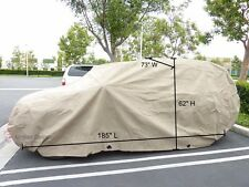 "Fit Toyota RAV4 SUV Covers,Indoor Outdoor Storage Rain Dust Cover, 185""L"