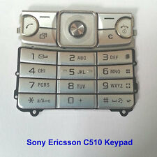 100% Genuine Sony Ericsson C510 C510i Mobile Phone Keypad Fascia Housing -Silver