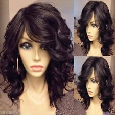 FIXSF594  vogue short brown curly wavy hair wigs for fashion women wig