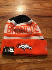 NWT NFL New Era Denver Broncos Biggest Fan Knit Cuff Beanie Hat Cap
