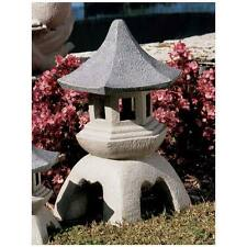 Large Pagoda Lantern Statue Asian Themed Garden Decor Oriental Garden