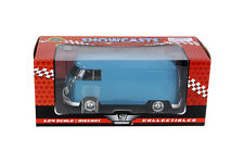 1:24 BLUE VW VOLKSWAGEN DELIVERY VAN MOTORMAX SHOWCASTS DIE-CAST TYPE 2 T1