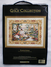 "Dimensions Gold Collection ""Placid Picnic"" Counted Cross Stitch Kit"