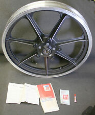 "19"" AMF Harley Davidson 43522-77 Sportster 7 Spoke Mag Wheel / Rim Assembly"