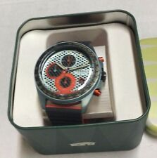 Fossil Men's Sport 54 Chronograph Gunmetal Silicone Watch CH3025 NWT