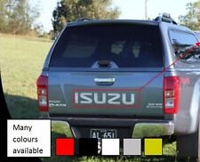 Sticker decal for isuzu clear Tailgate 2.5 TD D max light rear door bumper grill