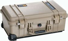 PELICAN 1510NF TAN CASE NO FOAM FAA CARRY ON 1510 NF