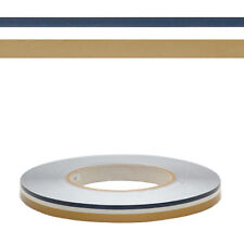 Custom Navy Blue Clear Gold 1/2 Inch x 150 FT Boat Pinstripe Tape (Roll)