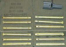 1-CASE OF 75 BANDOLEER REPACK KITS USGI COMPLETE ORIGINAL  4 POCKET OD .223/5.56