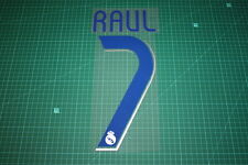 Real Madrid 06/07 #7 RAUL Homekit Nameset Printing