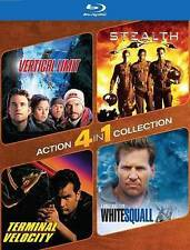 Vertical Limit/Stealth/Terminal Velocity/White Squall (Blu-ray/2015) = Brand New