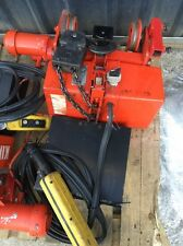 King  1 TON ELECTRIC HOIST – 3 PHASE, WITH TROLLEY, Free Delivery 4 Available
