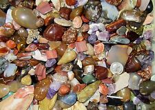 Tumble Polished Agates Crystals Minerals Rock, Variety Mix 1 lb lot, 1 pound