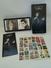 Elvis The King Rock Roll - Complete 50's - CD Box Set & Book & 36 Stamps Rca
