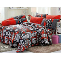 STAR WARS Bed Fitted Sheet Set 5 Pieces Tulip SL503 Queen Size