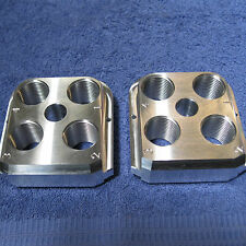 (2) Dillon Precision RL 550B Style Billet Aluminum Toolheads (2)  tool head