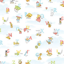 Alphabet Kids Contact Paper Self Adhesive Wallpaper Roll Vinyl Wallcovering