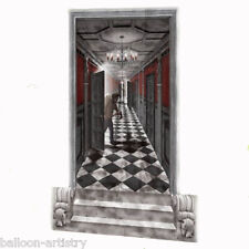 Halloween Haunted Mansion Scene Setter Add-on Kit GOTHIC HALLWAY