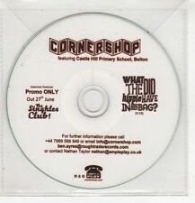 (HF703) Cornershop, What Did The Hippie Have In His Bag? - DJ CD
