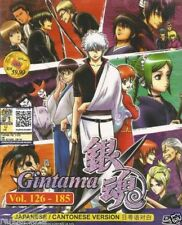 Gintama Anime DVD (Vol.126-185) with English Subtitle
