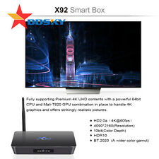 [3GB+16GB]Octa Core Amogic S912 Android 6.0 TV Box KODI Dual Band 5Ghz WIFI X92