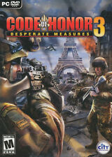 CODE OF HONOR 3 DESPERATE MEASURES Shooter PC Game NEW!