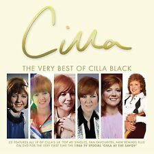 Cilla Black The Very Best Of - CD + DVD Album New