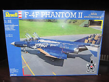 REVELL 04743 1/32 F-4F Phantom 50th Anniversary  NEW Sealed airplane