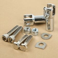 Passenger Foot Peg Supports Mount Clevis For 00-06 Harley Softail Model 50942-00