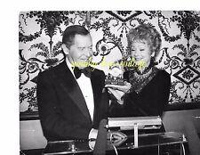 Vtg Celebrity Photo Black White Vtg Milton Berle & Lucille Ball