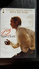 12 YEARS A SLAVE DVD RATED R Sarah Paulson, Chjwetel Ejiofor, Brad Pitt slavery