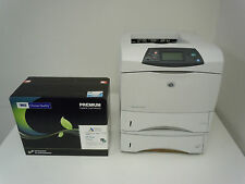 Q2434A HP LASERJET 4200DN 4200DTN PRINTER & NEW MSE HIGH YIELD Q1338A 38A TONER