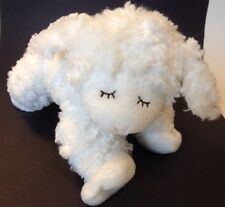 Gund Winky Lamb Sheep Lovey Plush Baby White Stuffed Easter Toy Rattle 58133
