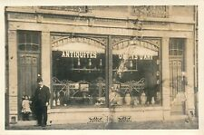 LIEGE c. 1900 - Magasin Antiquités Place de Fragnée  - aa836