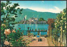 AD3352 Novara - Provincia - Lago d'Orta - Isoletta vista da casa Crosio