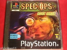 SPEC OPS COVERT ASSAULT PLAYSTATION 1 SPECOPS COVERT ASSAULT PS1 PS2 PS3