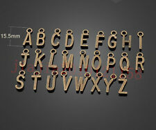 PJ636  26pc Retro Bronze (26 English letters)Bead Charms Accessories wholesale